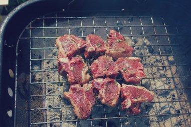 Grilling Lamb Chops